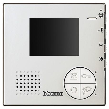 Bticino Citofono 2 Fili.Bticino Videocitofono Monitor A Colori 2 Fili Bti 344502 Elettro Ab